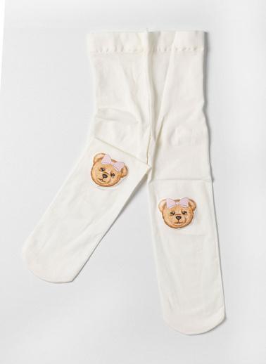 Katia & Bony Külotlu Çorap Ekru